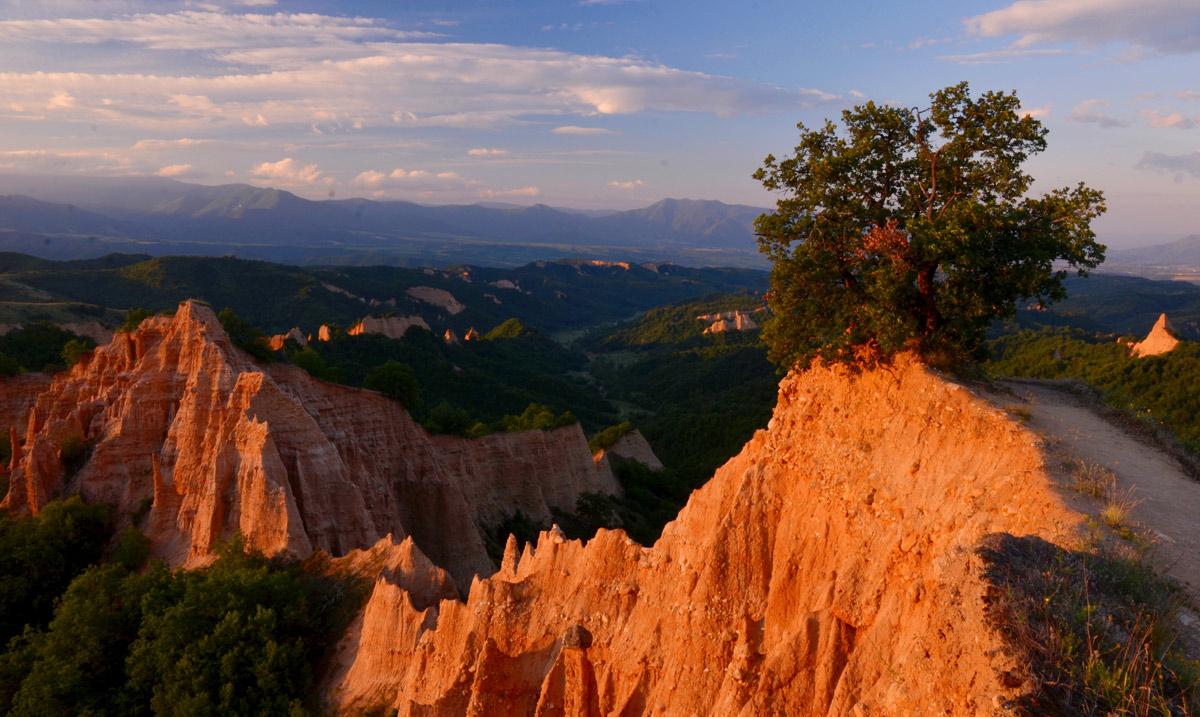 Pirin Mountains Sand Pyramids, Bulgaria