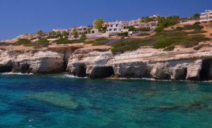 Sea Caves at Peyia, Cyprus