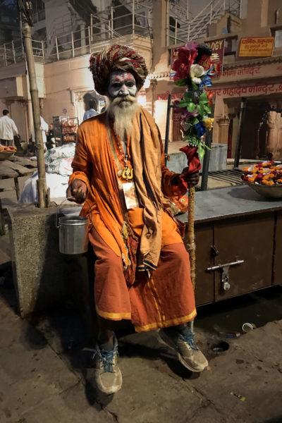1-Varanasi—Sadhu