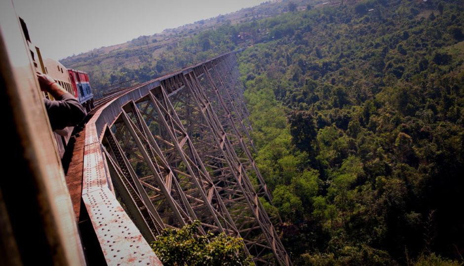 Myanmar – Part 6 – Train & Road to Mandalay Through Pyin Oo Lwin