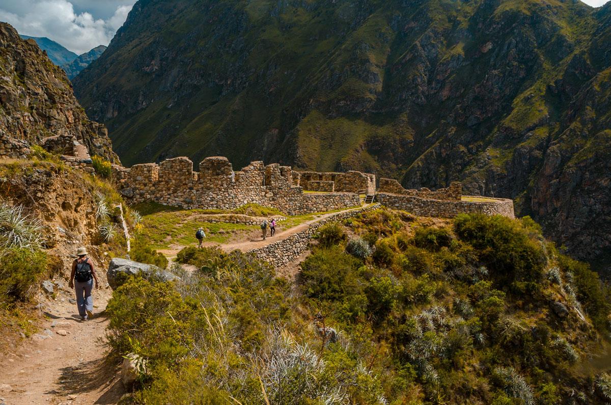 Llaqtapata Terraces - Inca Trail