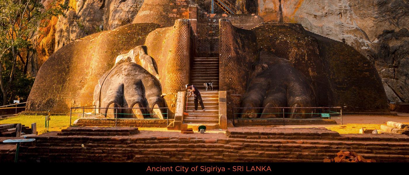 Lion Claws – Sigiriya