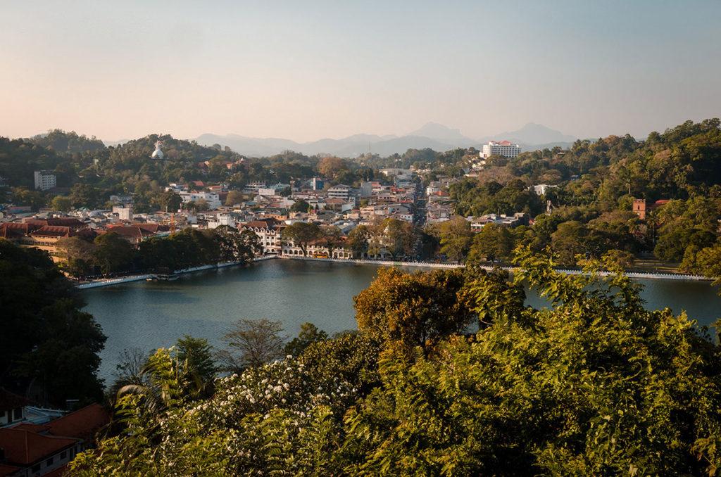View of the City of Kandy - Sri Lanka