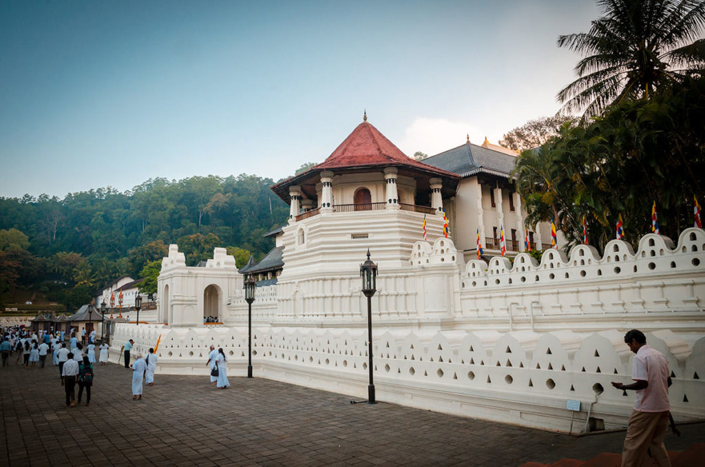 Temple of the Sacred Tooth - Kandy