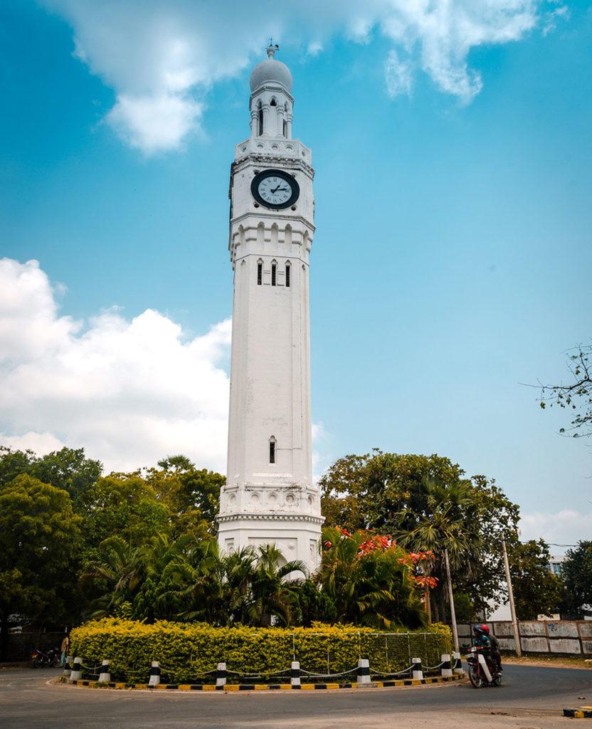 British colonial-era clock tower - Jaffna City
