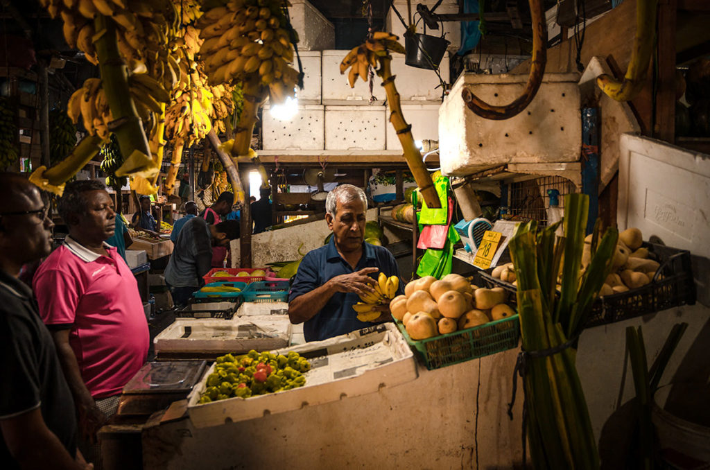 Fruit stall in the market - Malé