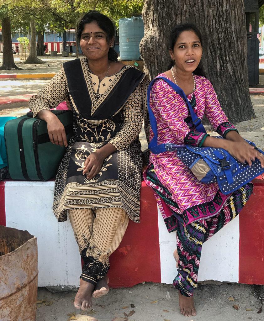 Two pilgrim women - Jaffna