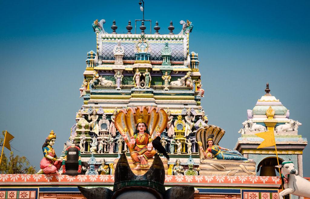Nagapooshani Temple Roof - Jaffna City