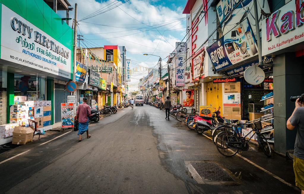 Long street - Jaffna City