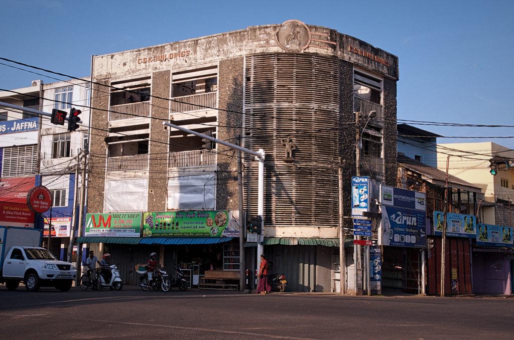 Unoccupied damaged building - Jaffna City