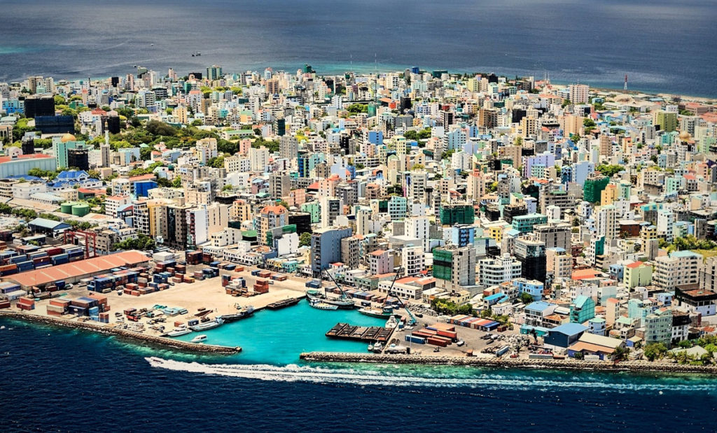 Overview of the City of Malé - Maldives