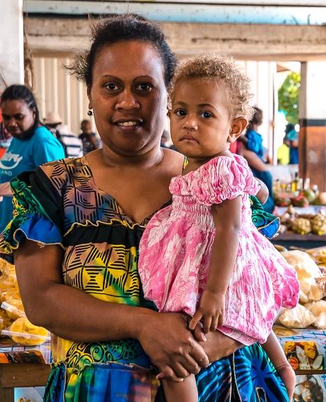 Blond Haired Child Vanuatu