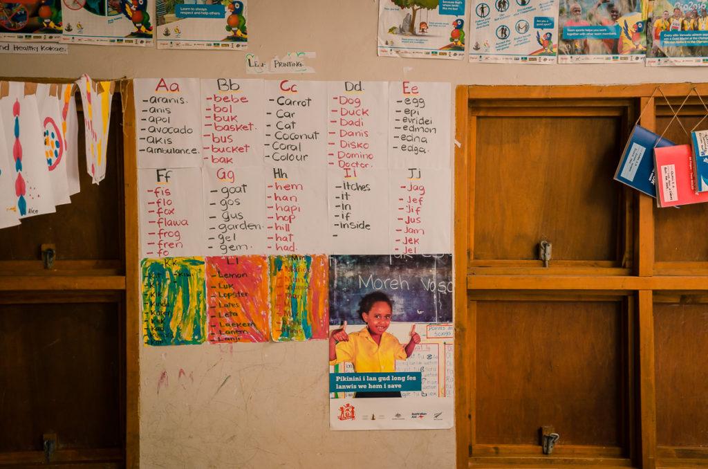Vanuatu Classroom Phonics