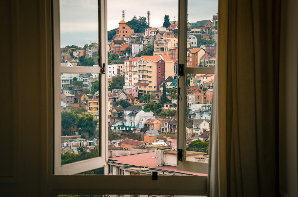 View of Antananarivo from Grand Hotel Urban