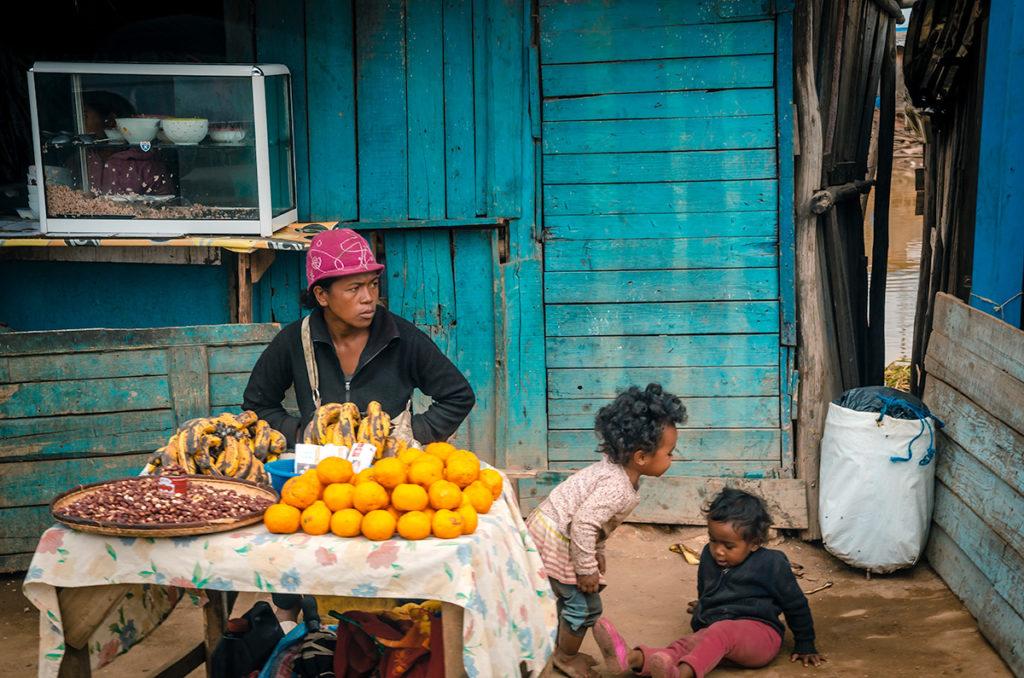 Antananarivo Fruit Seller
