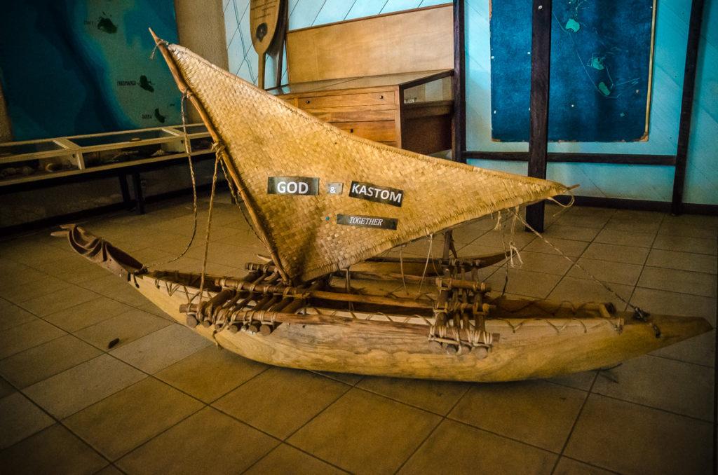 Vanuatu Museum Model Ship