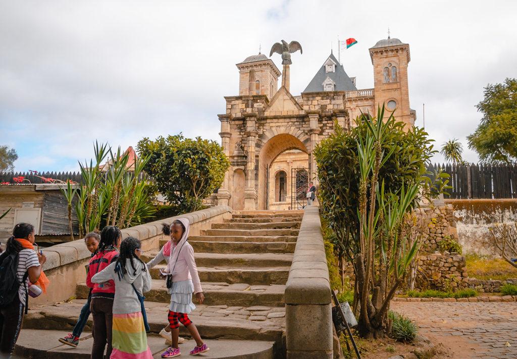 Rova Entrance in Madagascar