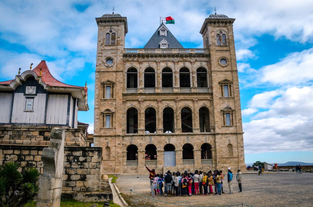 Students Visiting Rova in Antananarivo