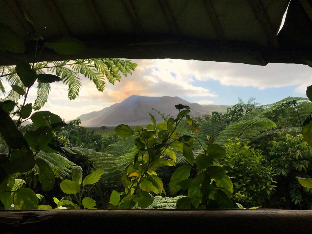 View of Mt. Yasur Volcano