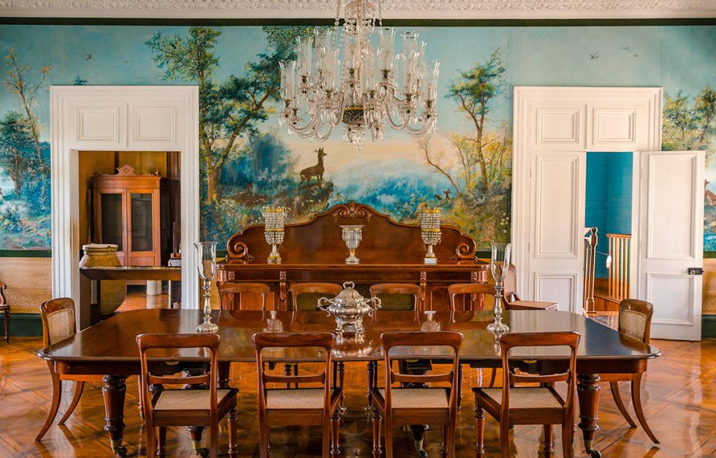 Château de Labourdonnais Dining Room