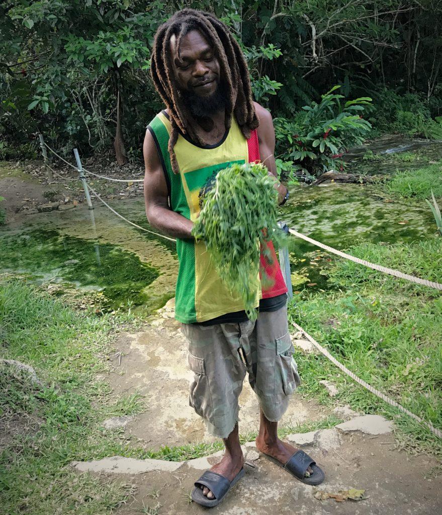 Vanuatu Man in Bob Marley shirt