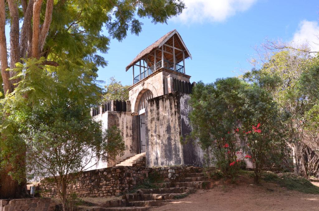 Outside Wall & Lookout Tower Ambohimanga Madagascar