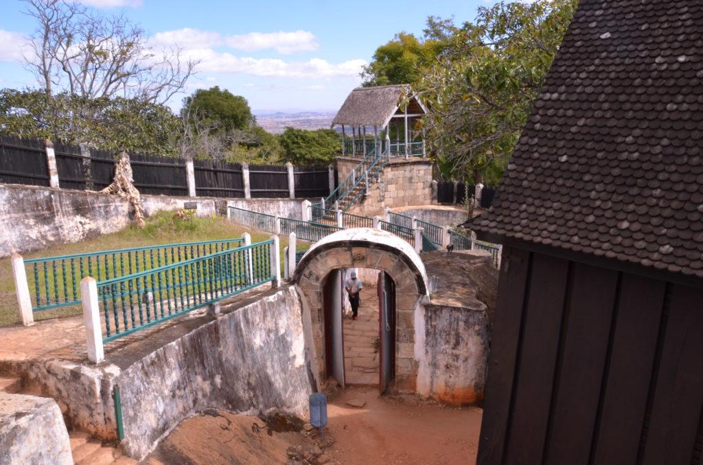 Complex Interior Ambohimanga Madagascar