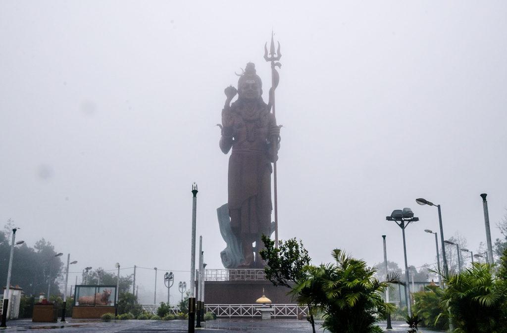 Grand Bassin Shiva Statue