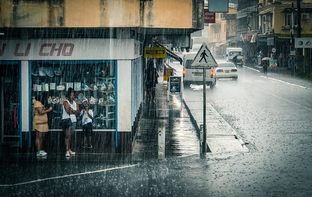 Mahebourg Rainy Streets