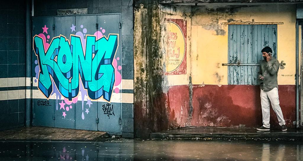 Mahebourg Kong Mural