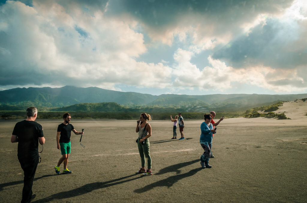 Mt. Yasur Ash Field Photographers