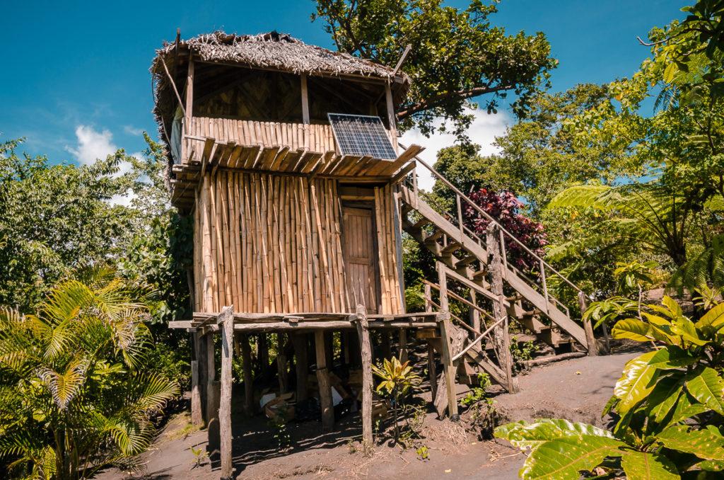 Volcano Roaring Front Vanuatu