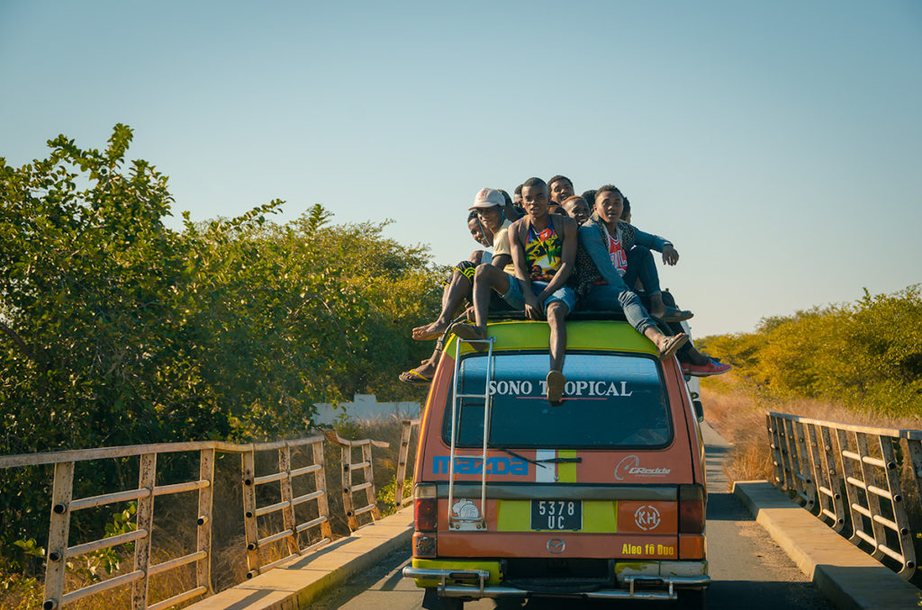 Madagascar Crowded Vans