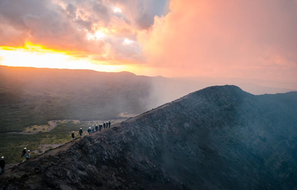 Ridge of Mt. Yasur