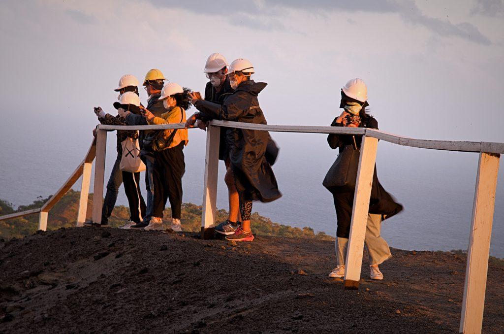 Mt. Yasur Visitors