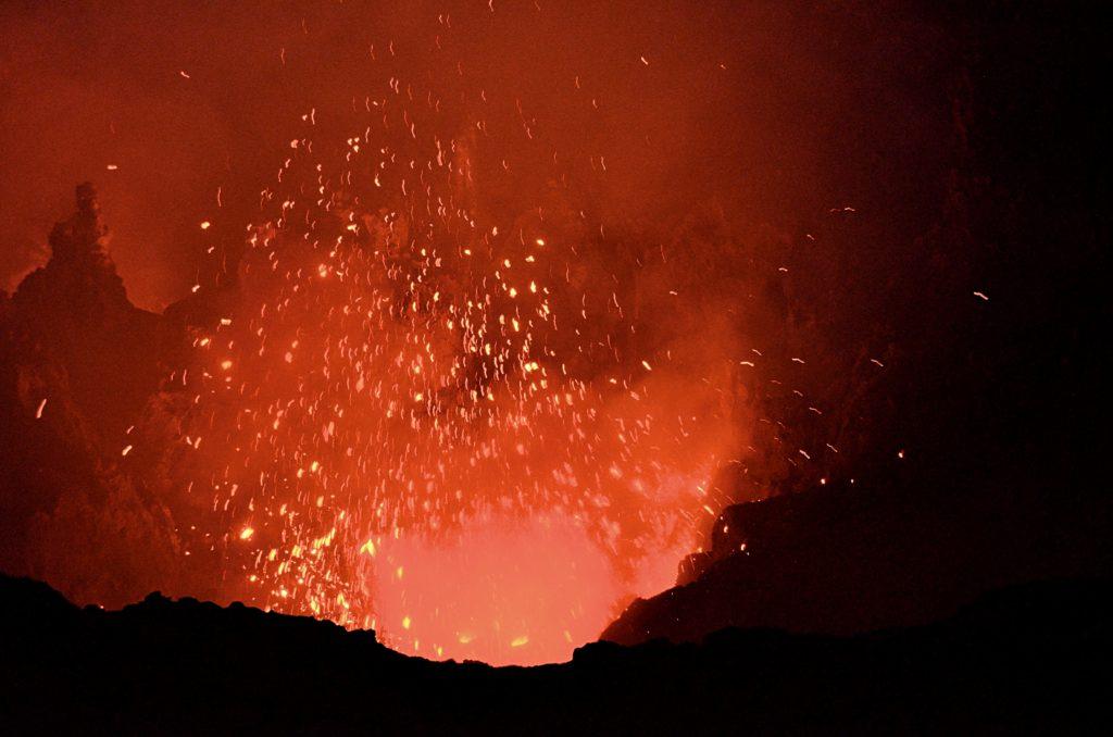 Mt. Yasur Eruption