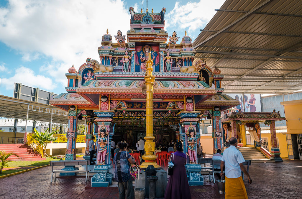 Kannanur Mariamman Temple Port Louis Mauritius