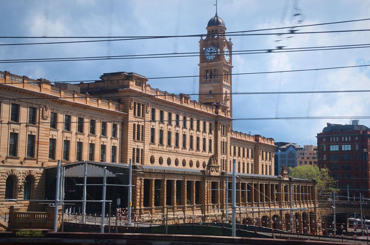 Sydney Central Station Exterior