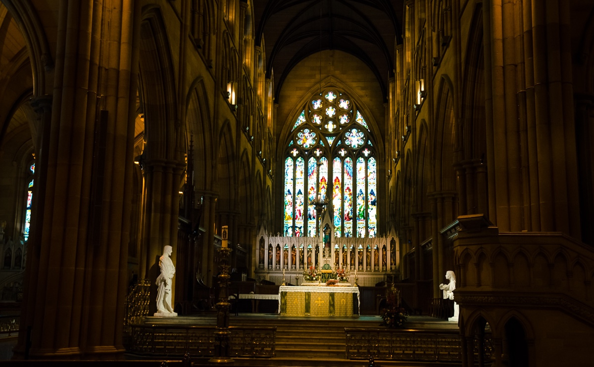 Altar of Sydney St Mary's Cathedral