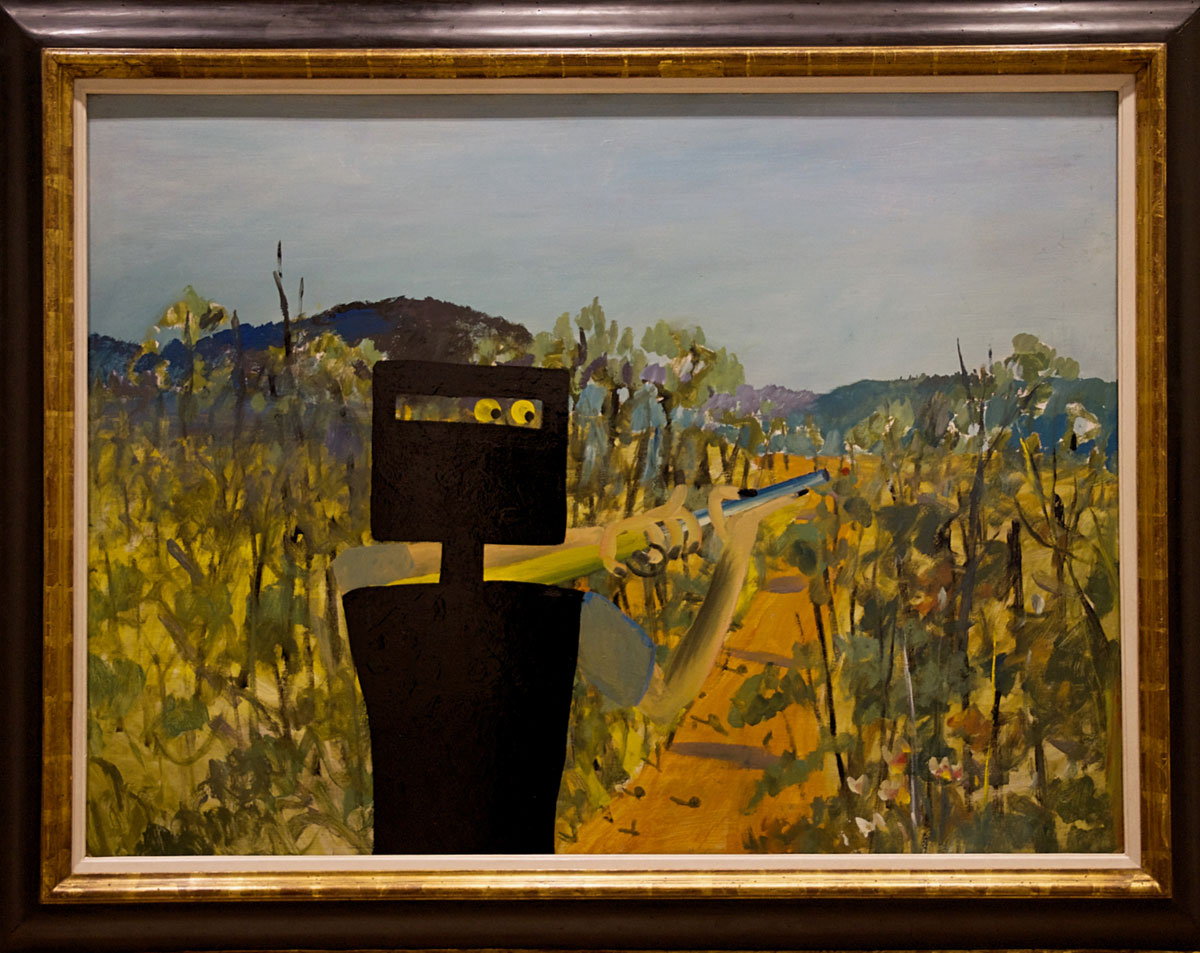 NSW Art Gallery Ned Kelly by Sandy Nolan