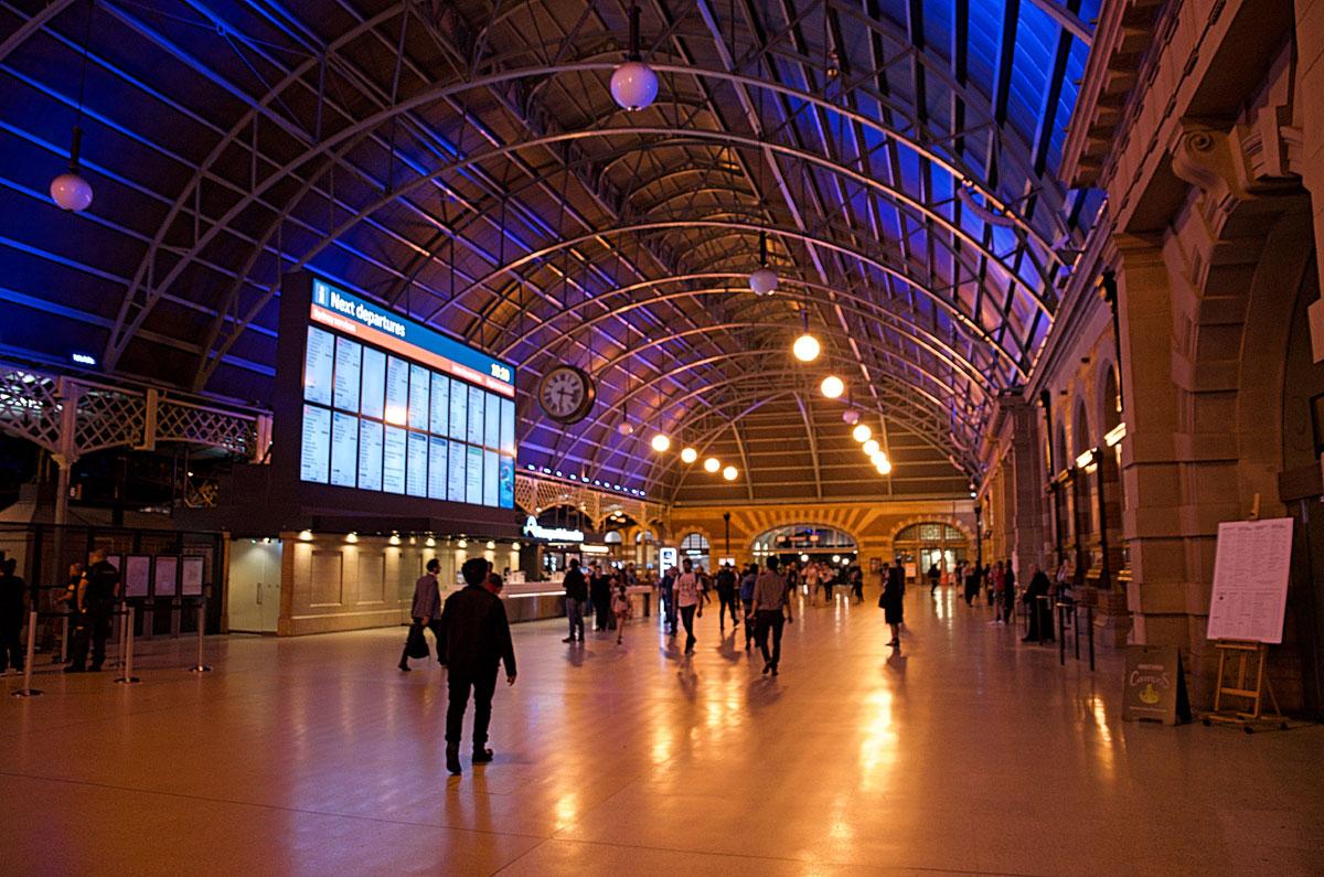 Sydney Central Station Interior