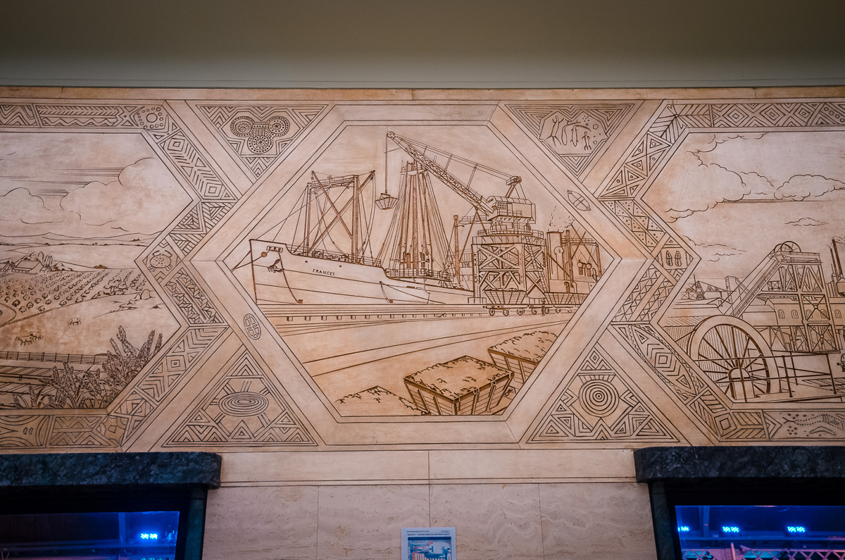 Sydney Central Station Murals