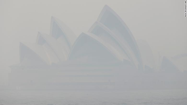 Sydney in Smoke CNN