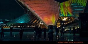 Sydney Opera House Light Show