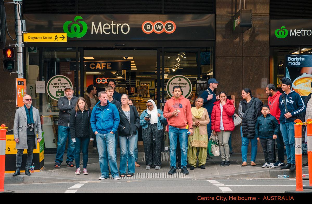 Melbourne Crowd