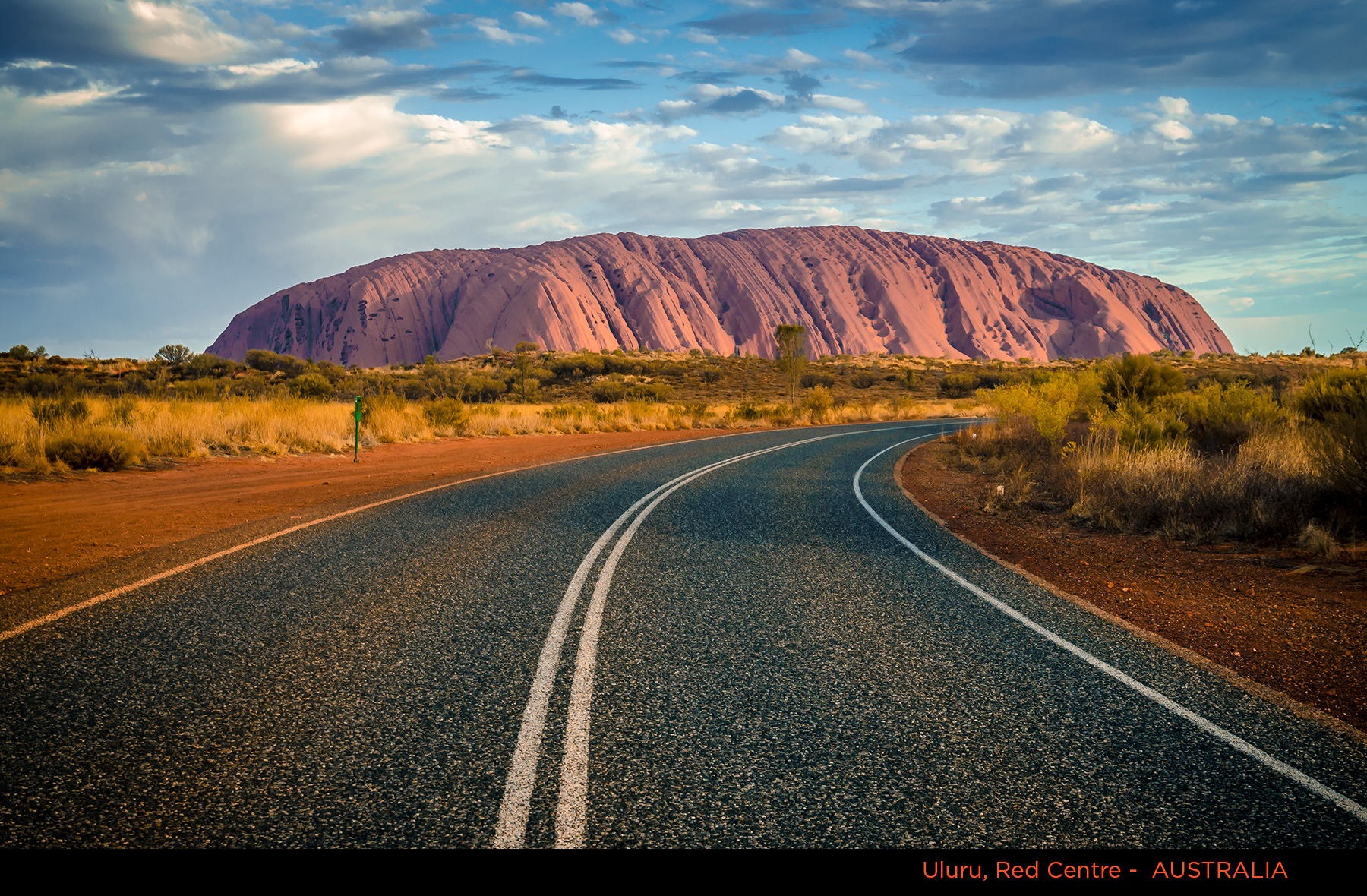 1 Uluru and Curving Road DSC_1241 With Title – Alberto