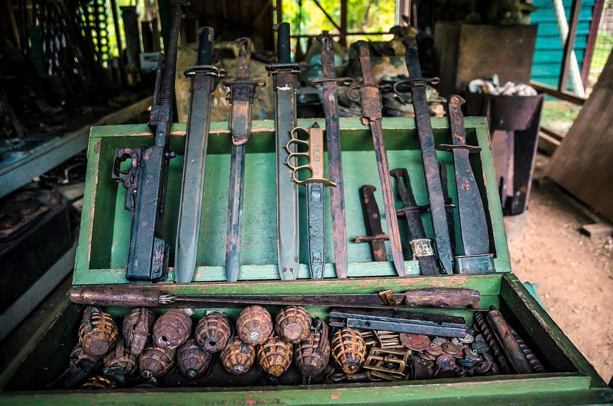 Barney Paulsen's Peter Joseph World War II Museum