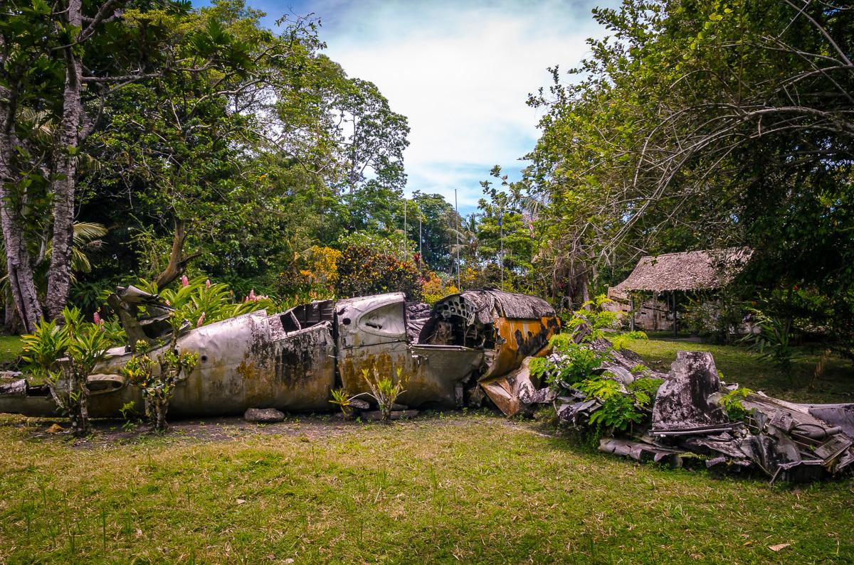 Vilu War Museum World War II Plane Relic