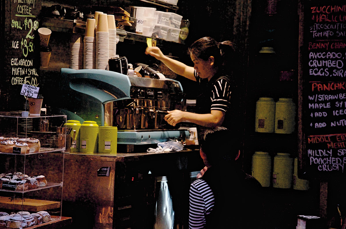 Melbourne Centre Place Barista