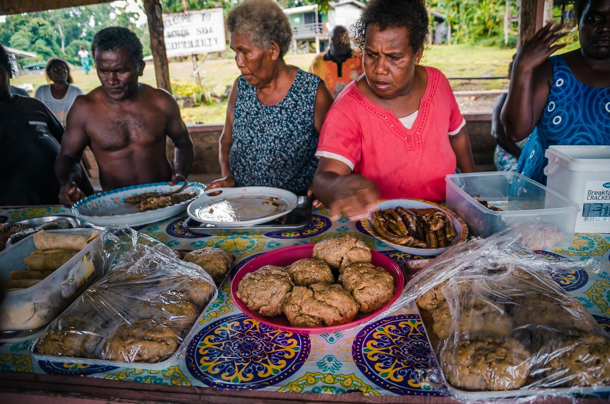 Boboe Village New Georgia Islands